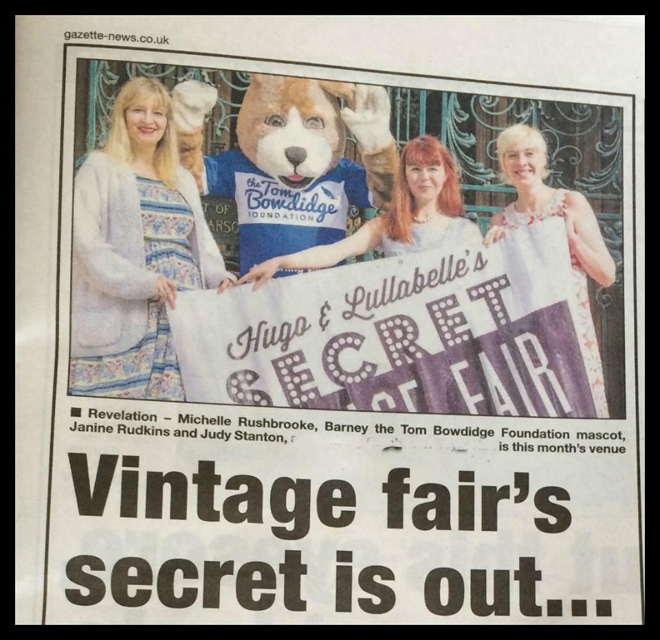 Gazette article on Secret Vintage World at Town Hall