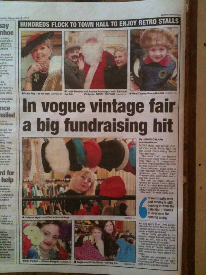 Coverage on event at Town hall Colchester