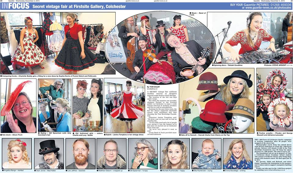 Coverage on event in Firstsite
