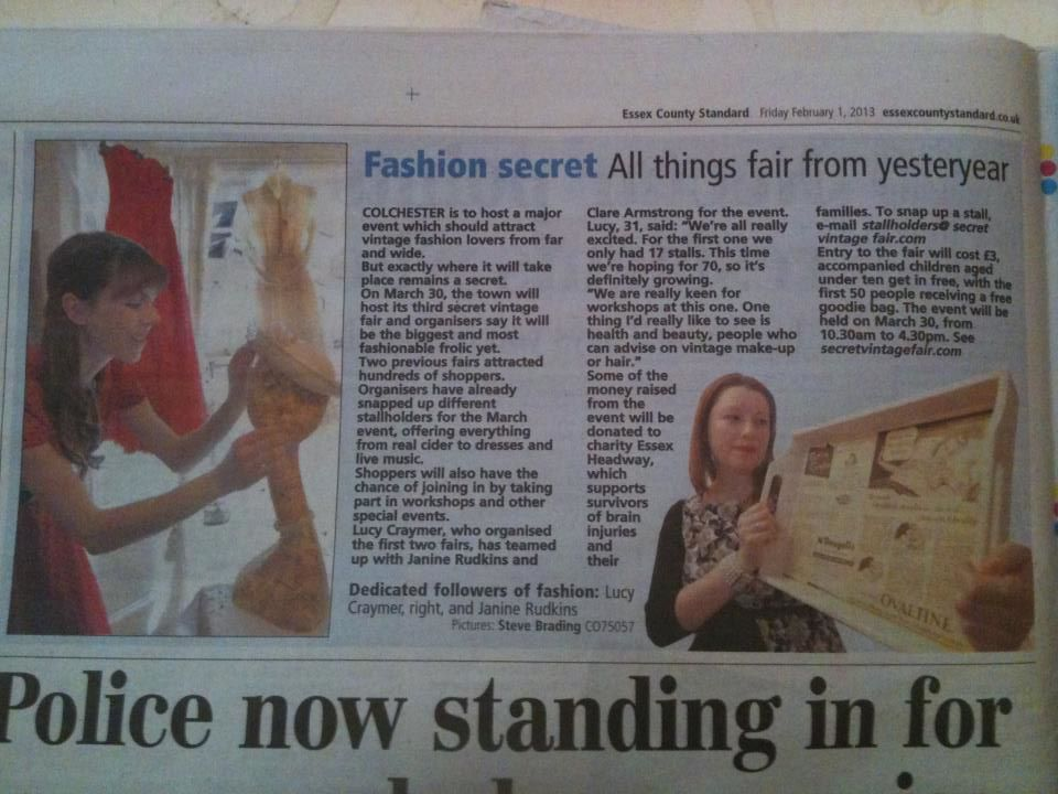 Coverage on forthcoming event in Colchester Castle