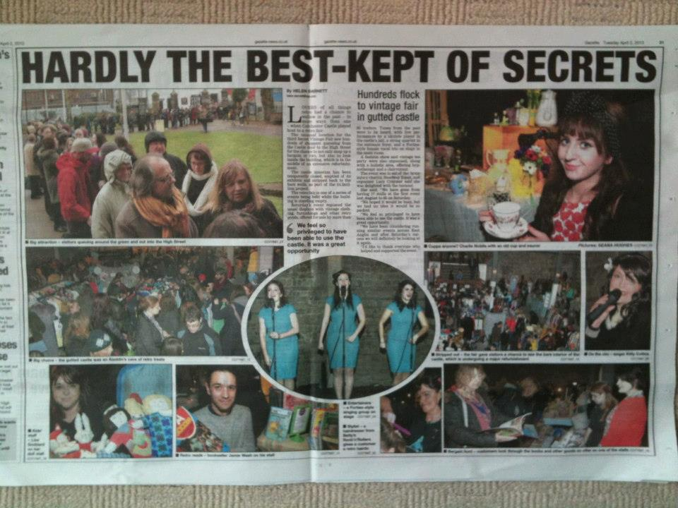 Coverage on Colchester Castle event