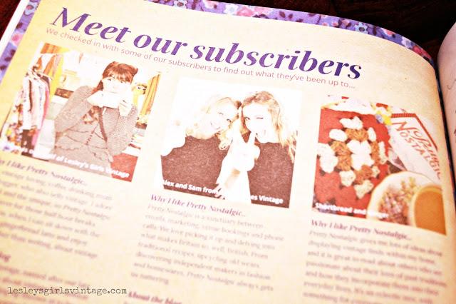 Coverage on blogging as Lesleys Girls