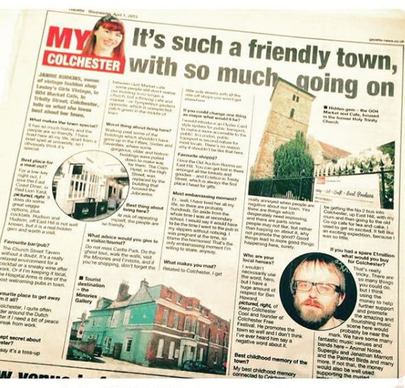 Piece on Colchester